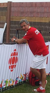 National Trap Coach at the 2015 Pan Am Games in Toronto