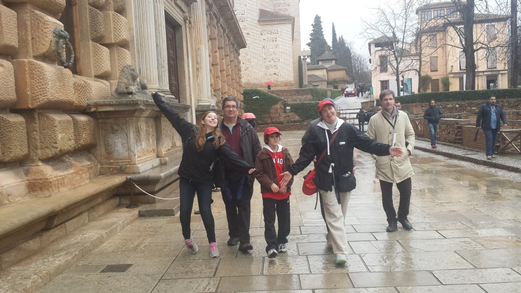 High Performance Team - Spain 2014 : Visiting Alhambra